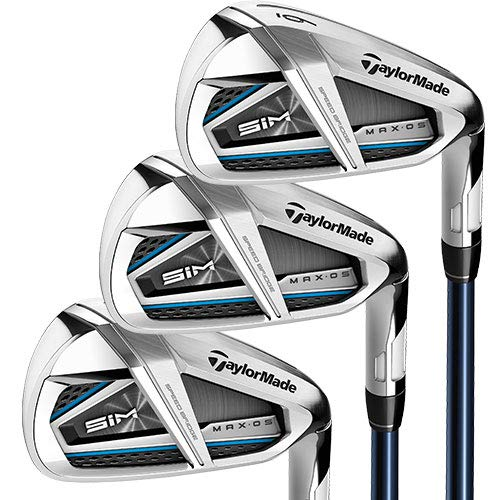 TaylorMade SIM MAX OS Irons, Steel Shaft