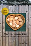 Free eBook - How To Preserve Eggs