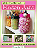 Free eBook - 20 Crafts with Mason Jars