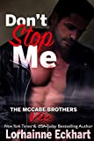 Free eBook - Dont Stop Me