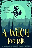 Free eBook - A Witch Too Late