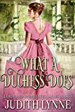 Free eBook - What a Duchess Does