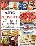 Free eBook - Keto Desserts Cookbook 2021