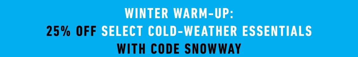 Cold Weather Sale Promotion