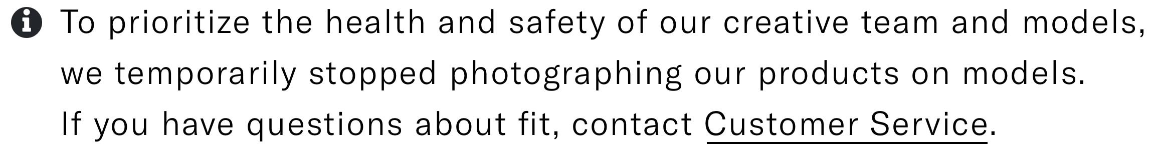 Model Safety Alert