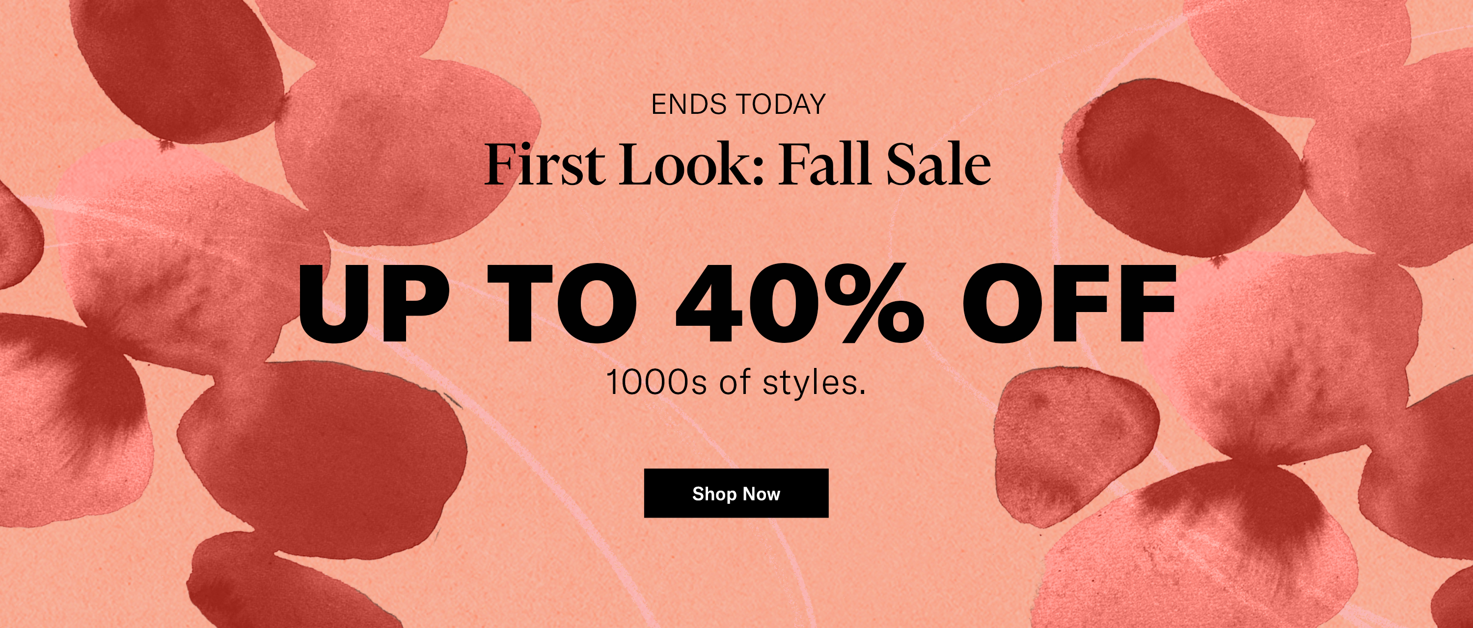 Shop Fall Sale Last Day