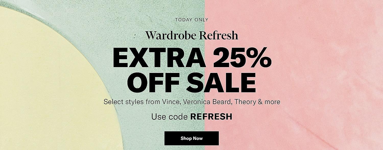Shop APO Sale Extra 25% Off