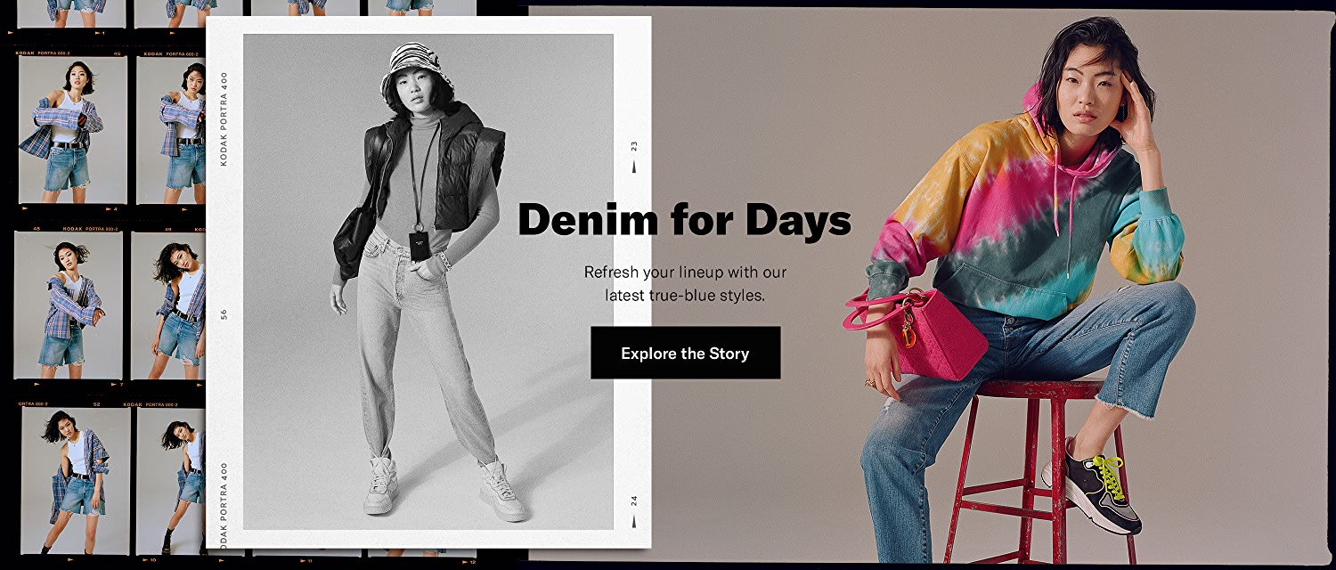 Shop the Latest Denim