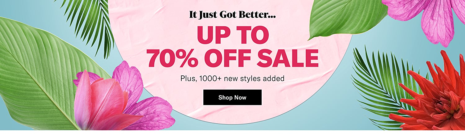 Shop Up to 70% Off Sale