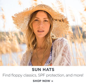 Sun hats: Find floppy classics, SPF protection, and more!