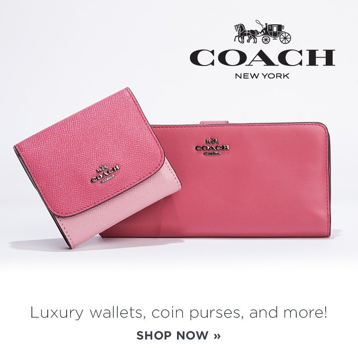 Coach. Luxury wallets, coin purses, and more! Shop now.