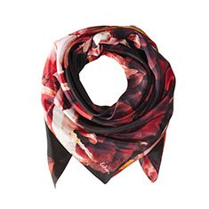 Image of a floral scarf