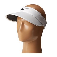 Image of a white visor