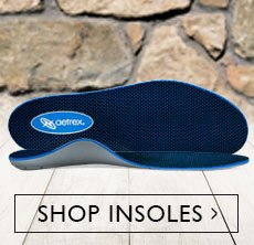 Clickable image of a blue insole