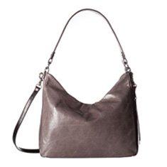 Image of grey hobo bag