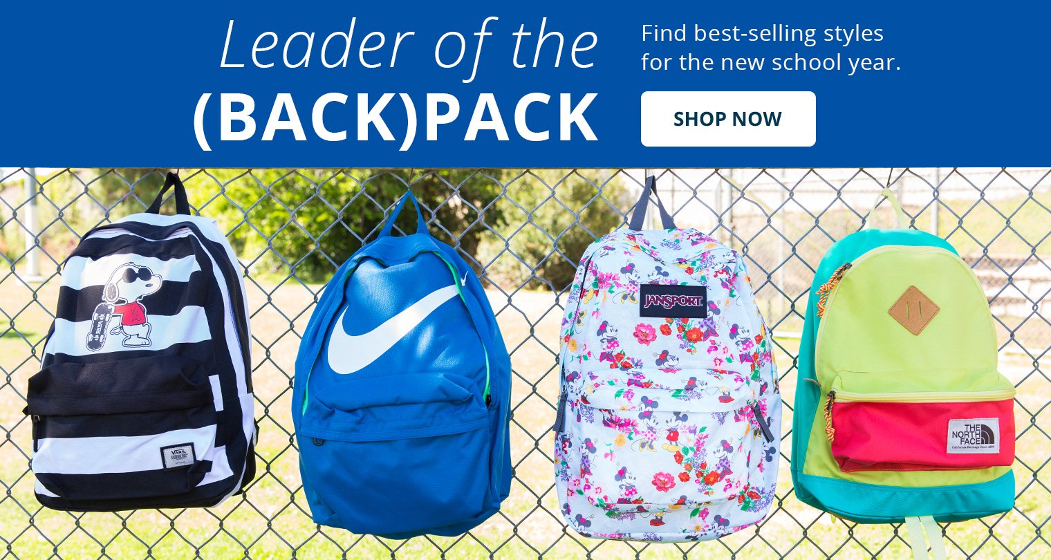 Leader of the (Back) Pack. Shop Now.