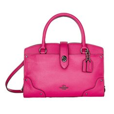 Image of a hot pink tote