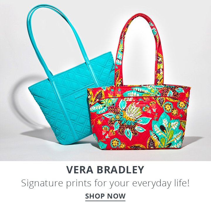 Vera Bradley. Signature prints for your everyday life. Shop Now.