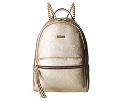 Image of gold backpack