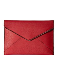 Image of a red envelope clutch
