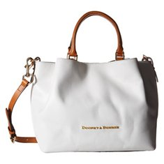 Image of a white satchel