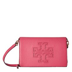 Image of a light pink crossbody bag