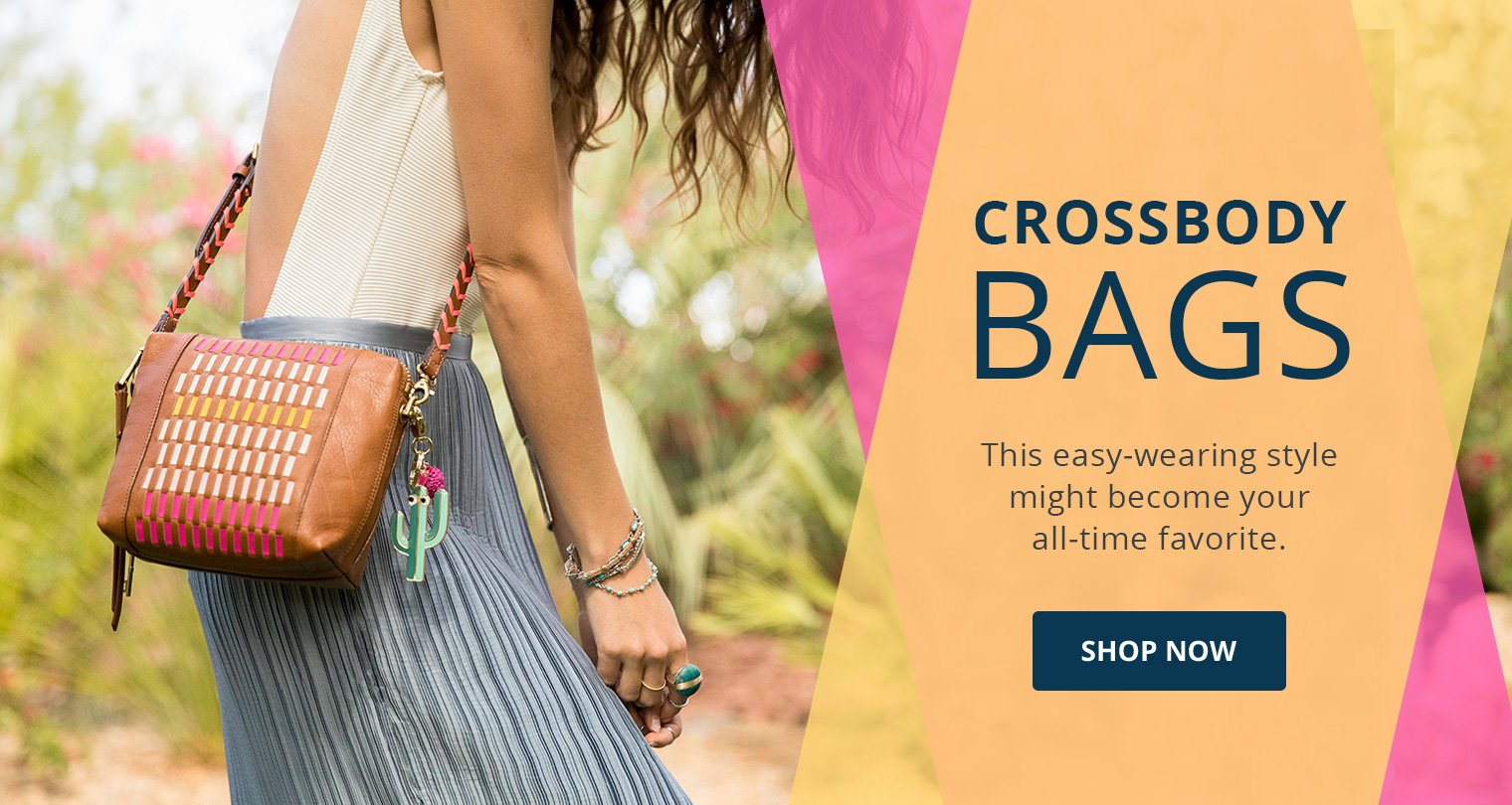 Crossbody bags.This easy-wearing style might become your all-time favorite Shop Now.