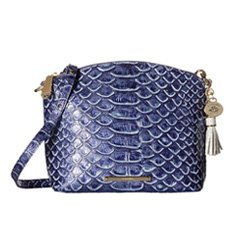 Image of a blue bag with printed scales