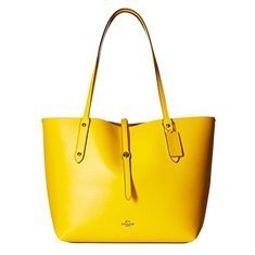 Image of a yellow tote bag
