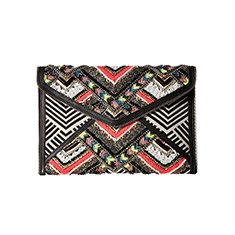 Image of a multi-colored Clutch