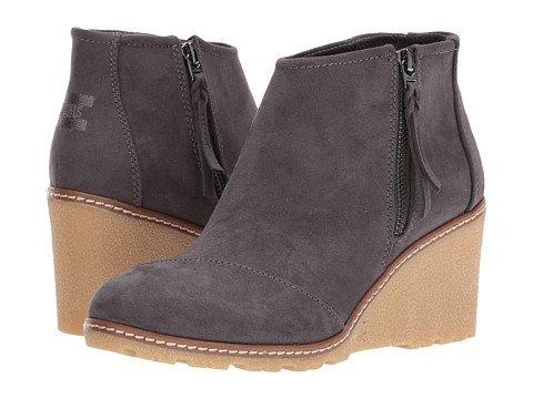 Wedged Heel Boots