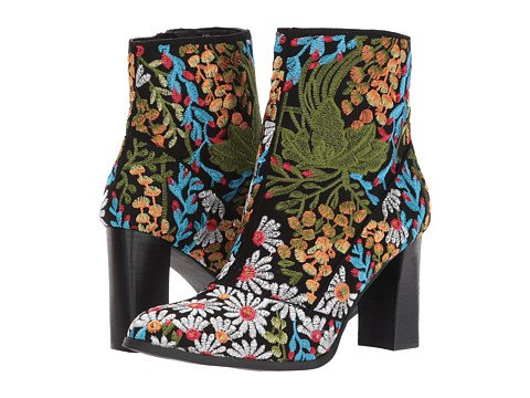 Women's Brocade Embellished Boots