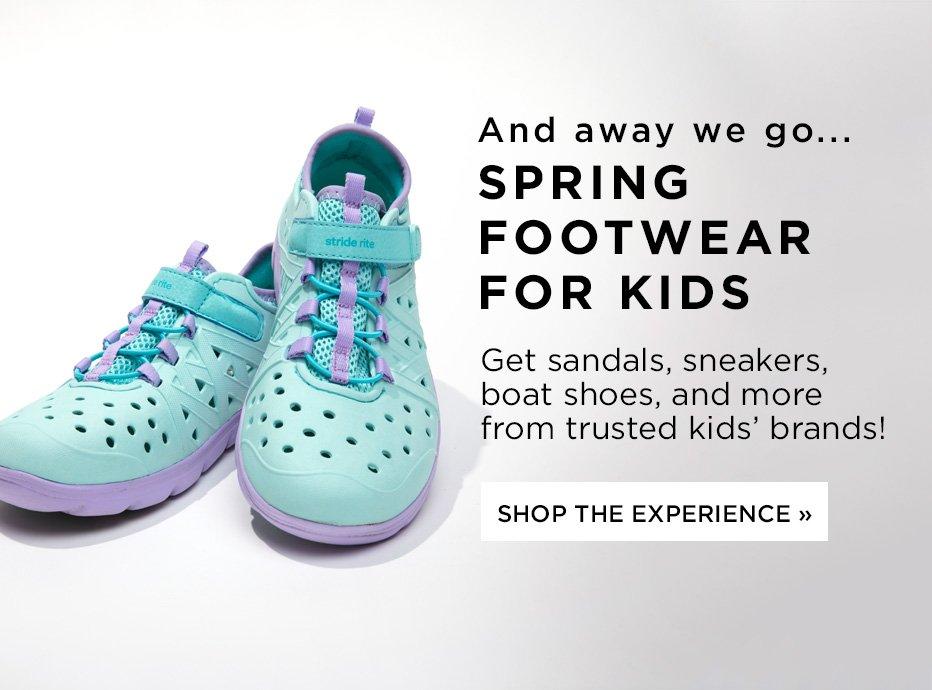Kids Spring Footwear