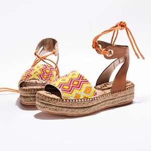 Image of Sam Edelman platform sandals.