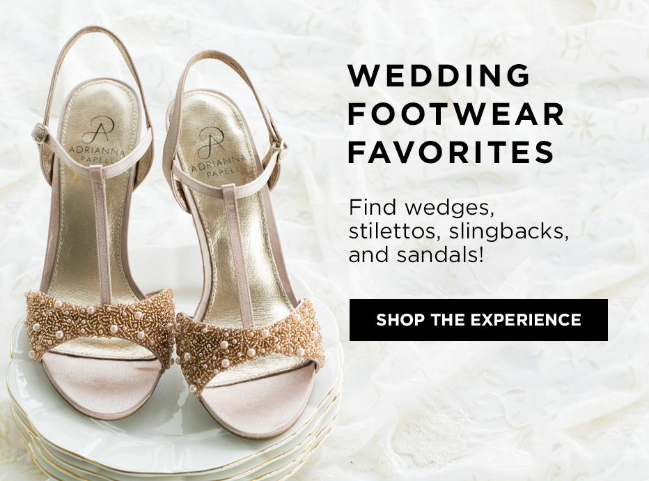 Wedding Footwear Favorites