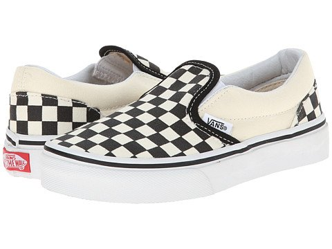 Image of Boys Slip on Sneakers Vans. Links to Boys selection of Vans.