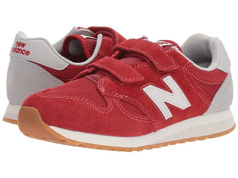Boys Hook and Loop Red New Balance Sneakers