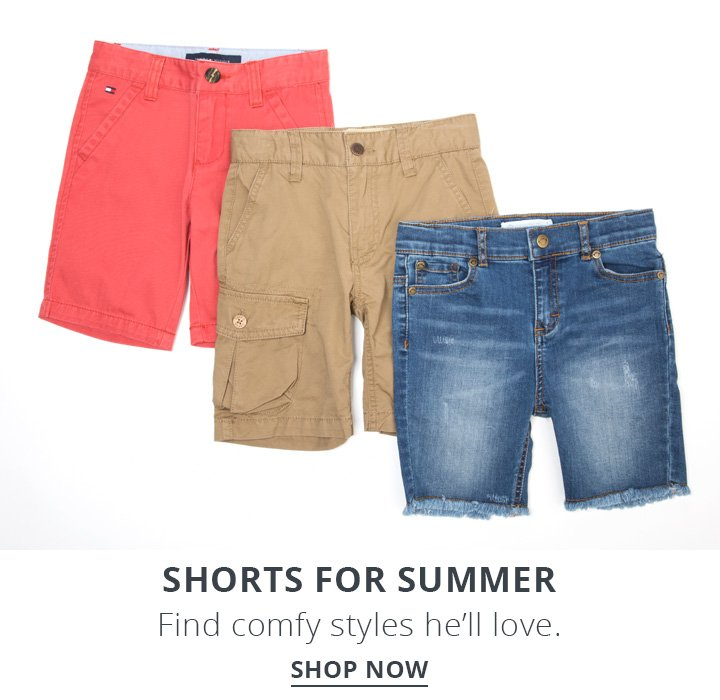 Shorts For Summer. Find comfy styles he'll love. Shop Now.