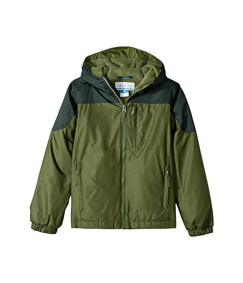 Boys Green Rain Jacket