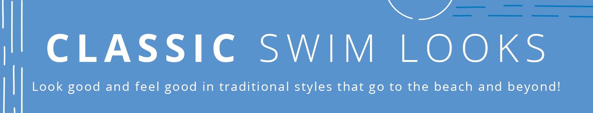 Classic Swim Header