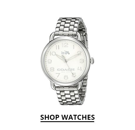 Shop Coach Watches