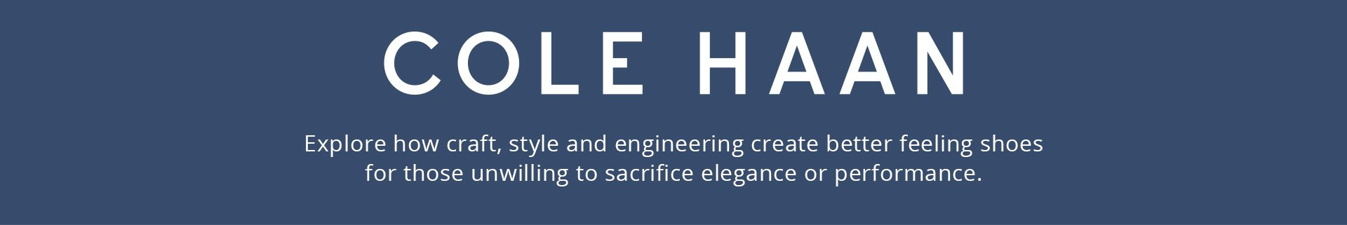 Cole Haan Header