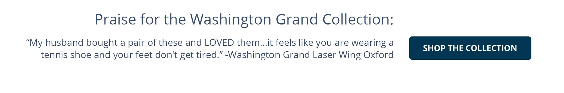 Washington Grand Oxford Collection