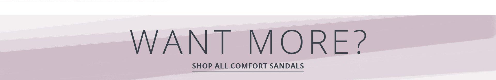 Shop All Comfort Sandals