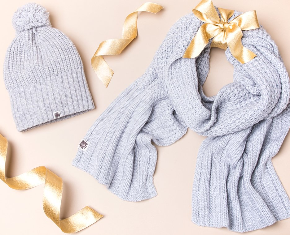 Image of Women's Beanie and Scarf