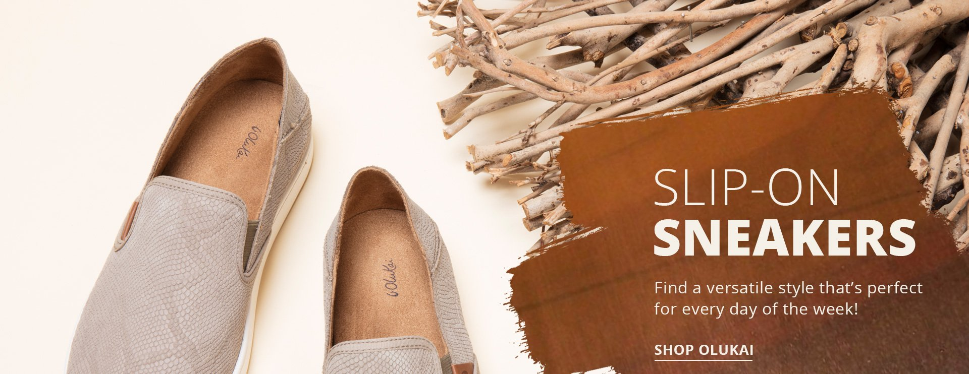 Slip-on sneakers. Find versatile style that's perfect for every day of the week! Shop Olukai.
