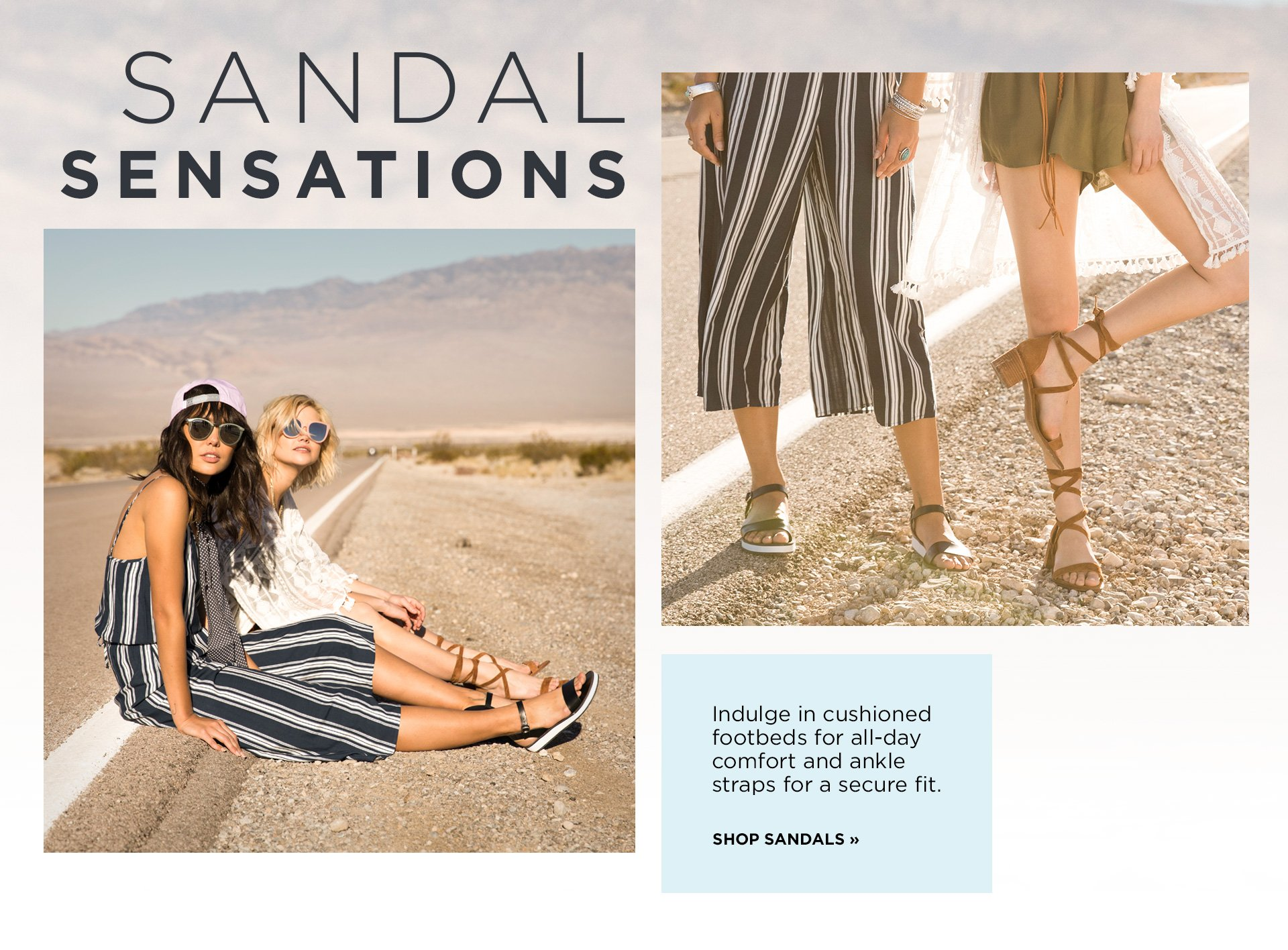 Sandal Sensations