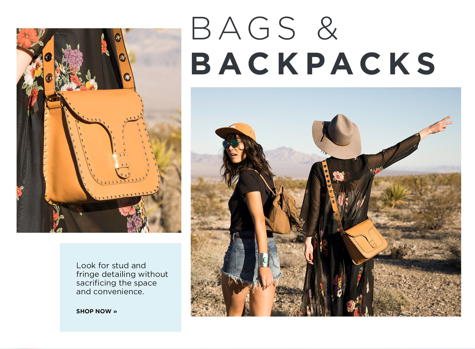 Shop Bags and Backpacks