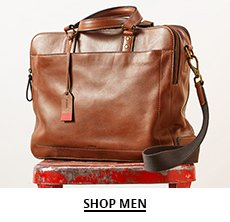 Clickable image of a brown men's messenger bag
