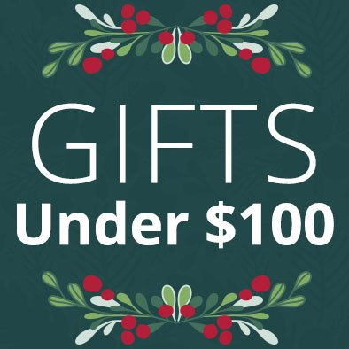 Links to Gifts $100 and under